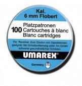 Boite de 100 cartouches à blanc 6 mm Flobert