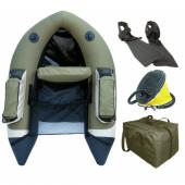 FLOAT TUBE COMPLET GRAUVELL NOLAN - Pack float tube de peche pas cher