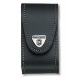 Etui cuir noir victorinox 15-23p housse pour ranger couteau suisse