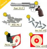 Promo Pack Ruger SuperHawk Élite - cartouches billes alu 200 cibles