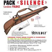 Fusil silencieux PACK Yildiz pliant silence calibre 410 Magnum Chasse