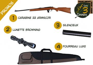 Carabine 22lr ARMSCOR M1400+Sil