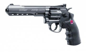 Ruger Super Hawk Black 6 pouces- Airsoft 3 joules co2
