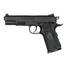 Pistolet airsoft Duty One Noir CO2 à bille calibre 6 mm