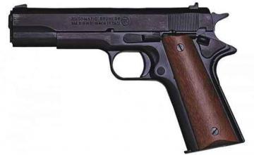 Arme de défense Pistolet automatique d'alarme blanc Bruni 96 Revolver