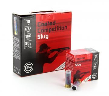 BALLE SLUG GECO - Coated Competition Slug- Munition de chasse,Cartouche à balle calibre 12-armurerie