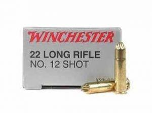 Grenaille 22lr-cartouche 22-Munition WINCHESTER 22 long rifle Shot