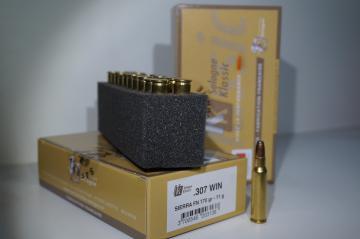 Cartouche 307 WIN - Balle munition de chasse