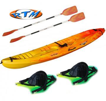 Kayak RTM, Océan Duo, peche en mer, magasin revendeur de Kayaks en Normandie, Calvados, Manche, Orne, Falaise, Caen, Flers