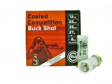 CHEVROTINE GECO - Cartouche Buck Shot compétition- Munition de chasse,Cartouche à balle calibre 12-armurerie