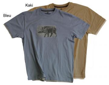 ATACAMA- Tee shirt Atacama - WILDLIFE 100% coton