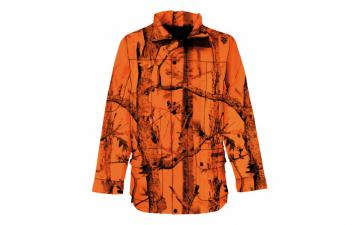 Veste Chasse GhostCamo PERCUSSION - Fluo Orange