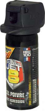 bombe de defense power jet 8 poivre gel - Powerjet8-50ml2
