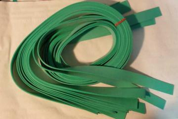 bande elastique pour lance pierre, elastique plat type chambre a air pour fabriquer son lance pierre