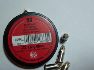 Vente Cartouche 5.5 mm à blanc-cartouches carabine pistolet 22 lr