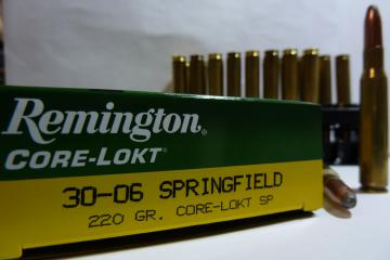 30.06 - 220 grains - 14.25 grammes -Remington  Balles calibre 30.06- Munitions grande chasse