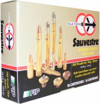 Balle calibre 9.3x62 Sauvestre-Munition Chasse Battue, Cartouches Balles carabine