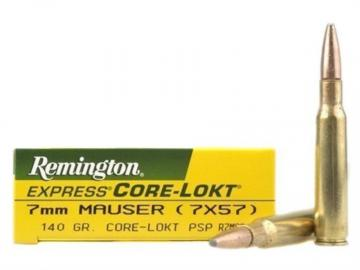 7 mm MAUSER Cal 7X57-Cartouches Balles carabine-140/ 9g-calibre 7mm