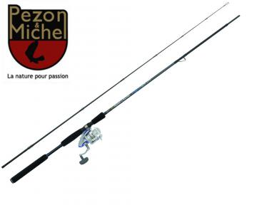 ensemble canne moulinet combo pezon et michel reef master 240+ moulinet  invitation ng fv300