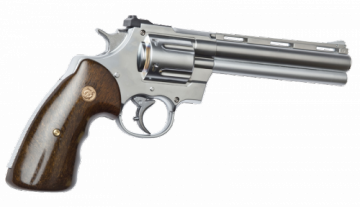 Revolver R357 Chrome calibre 6mm gaz CO2 Airsoft