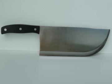 feuille de boucher plate semelle, fendoir boucherie professionnel couperet 24 cm