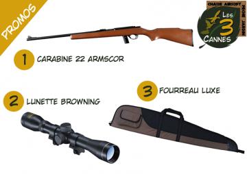 Carabine 22lr ARMSCOR M1400+lu