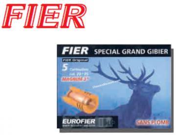 BALLE FIER CALIBRE 20/76 SPECIAL GRAND GIBIER (Magnum 3)