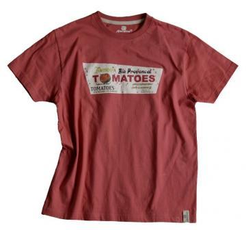 ATACAMA- Tee shirt Atacama - TOMATOES 100% coton
