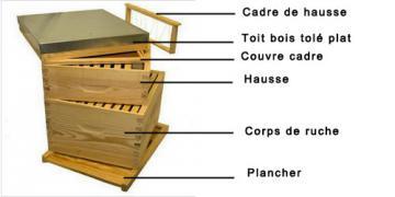 RUCHE DADANT - Apiculture, Matériel Ruche & Abeille, Normandie Calvados Orne Caen Falaise