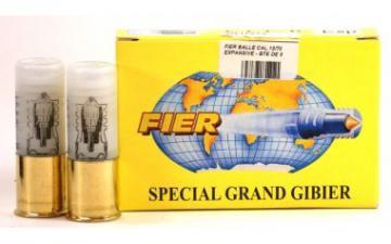 BALLE FIER 28 CALIBRE 12/70 SPECIAL GRAND GIBIER