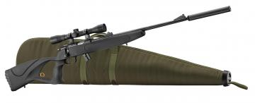 Pack carabine BO Manufacture Sniper cal. 22 LR. Carabine 22LR BO manufacture - Black Ops Manufacture Equality Maker, Thumbhole Synthétique en Pack-Armurerie, vente d'arme calibre 22 Mossberg