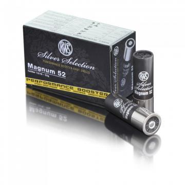 Cartouche RWS Silver Selection semi magnum 40 g, Cartouche de chasse cal 12 systeme gordon, performance booster