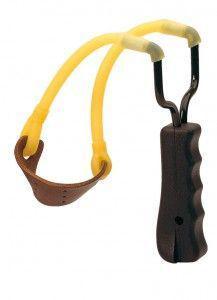 lance pierre davidavec manche ergonomique et élastique tubuaire, achat lance pierre