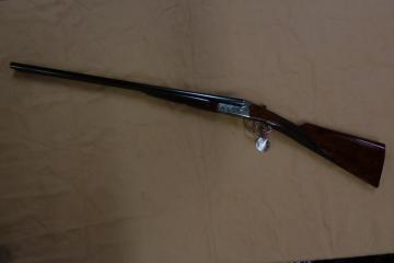 Fusil cal 20 Pierre Artisan Juxtaposé Fontainebleau Artisanal