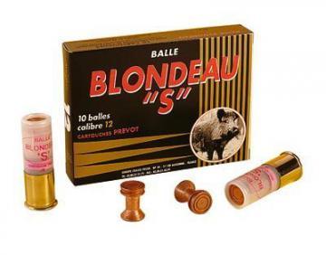 Munition de chasse,Cartouche à balle Blondeau S calibre 12-armurerie