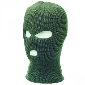Cagoules, passe montagnes, bonnet, chapeau, deguisement meilleur prix 3 trous vert kaki outdoor