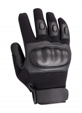 GANTS INTERVENTION PROFESSIONNEL COQUES ANTICOUPURE CUIR AIRSOFT CITYGUARD