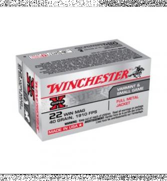 balles 22lr magnum winchester super x boite de 50 cartouches munitions 22 long rifle 22lr. Black Bedroom Furniture Sets. Home Design Ideas