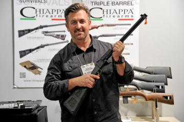 X caliber Chiappa double calibre-M6 CARABINE pliante cal12/22lr,survie,survival PACK