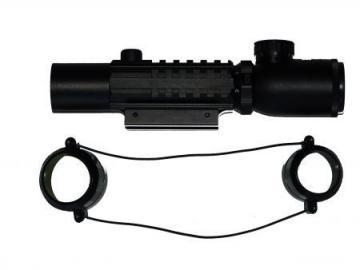 lunette 2-6x28 reticule lumineux airsoft tir loisir