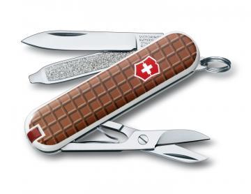 Victorinox Classic SD Chocolat mini couteau tablette de chocolat