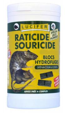 RATICIDE SOURICIDE BAYER-CAUSSADE-Blocs RAT-SOURIS -360g- Appat Brodifacoum