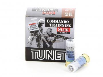 TUNET COMMANDO TRAINNING BALLE SLUG - Munition de chasse,Cartouche à balle calibre 12-armurerie