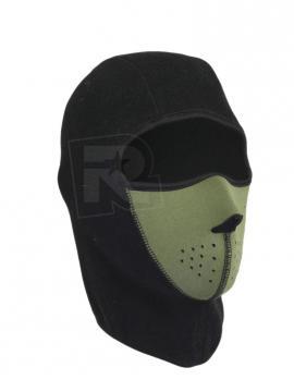 Masque cagoule HERMAN néoprène NEOPRENE A61128 NOIR AIRSOFT