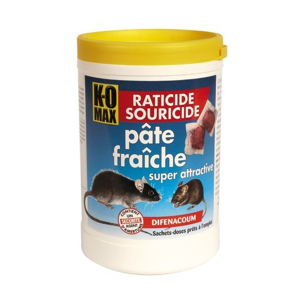 rat souris produit anti rats pates fraiches seau 400g raticide poison raticide souricide. Black Bedroom Furniture Sets. Home Design Ideas