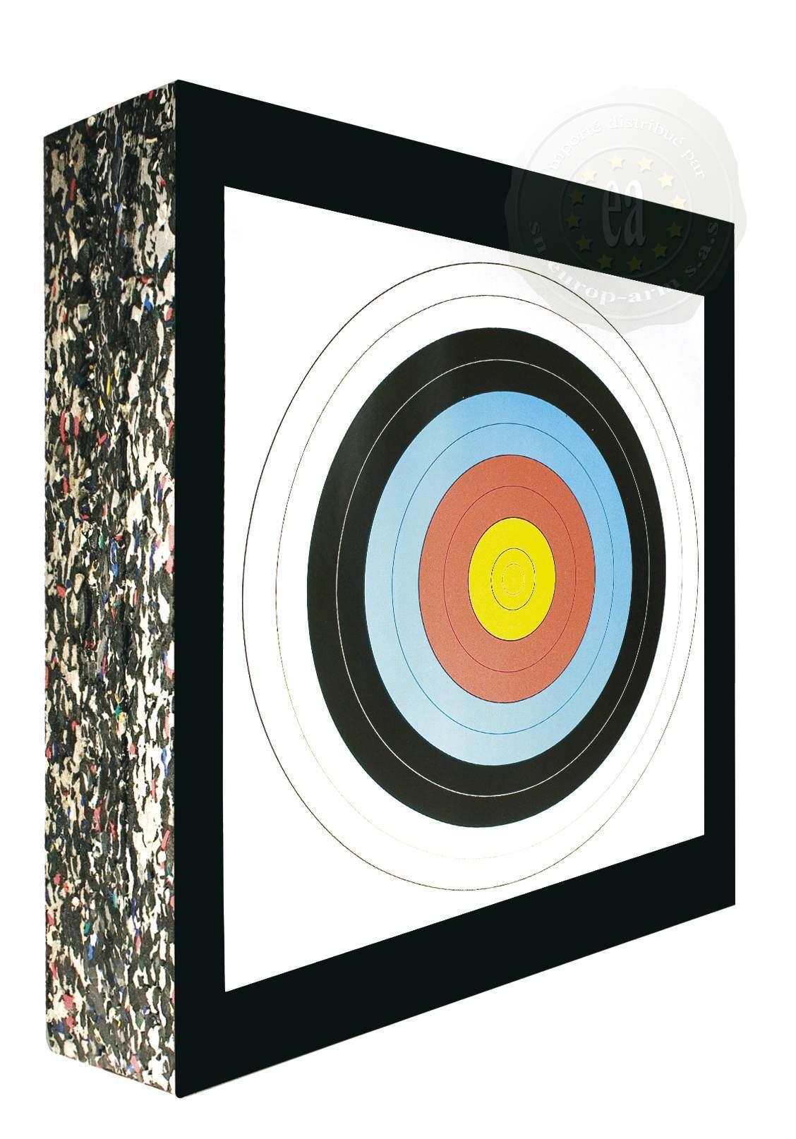 cible arc arbelete mousse paille cible format foam haute densit arc arbalete de loisir. Black Bedroom Furniture Sets. Home Design Ideas