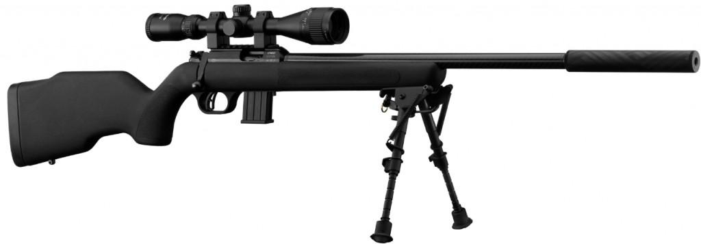 Carabine Webley Scott 22lr Xocet Canon Carbon Pack