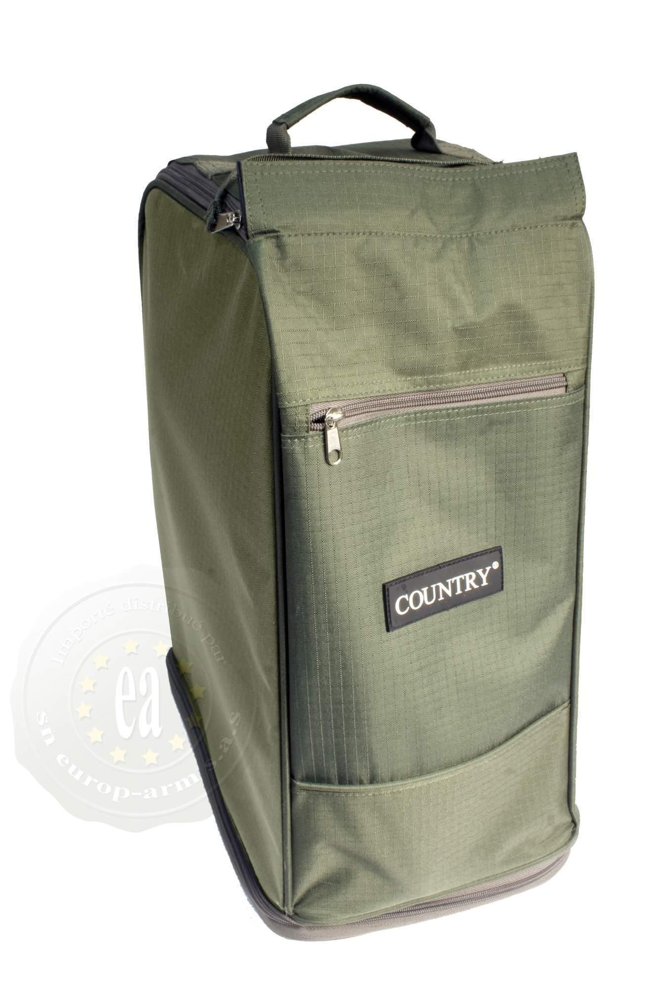 sac de rangement pour bottes country vert en cordura chasse peche vetements vetement nature. Black Bedroom Furniture Sets. Home Design Ideas